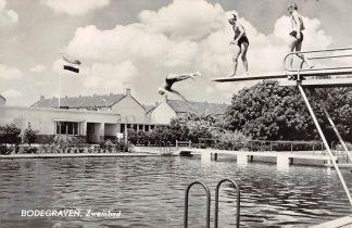 Ansichtkaart Bodegraven Zwembad 1966 HC7023