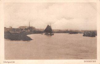 Ansichtkaart Doesburg IJselzicht 1926 Binnenvaart schepen Scheepvaart HC7030