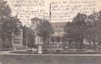 Ansichtkaart Radiumsolbad / Bad Munster a. Stein Kurgarten 1911 Duitsland Deutschland HC7037