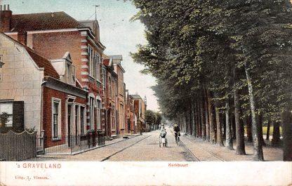 Ansichtkaart 's-Graveland bij Hilversum Kerkbuurt 1906 HC7047