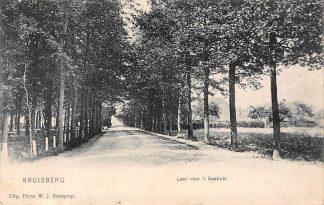 Ansichtkaart Kruisberg Doetinchem Laan voor 't Gesticht 1908 HC7048