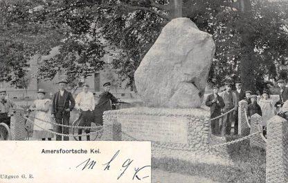 Ansichtkaart Amersfoort Amersfoortsche Kei met volk 1906 HC7053