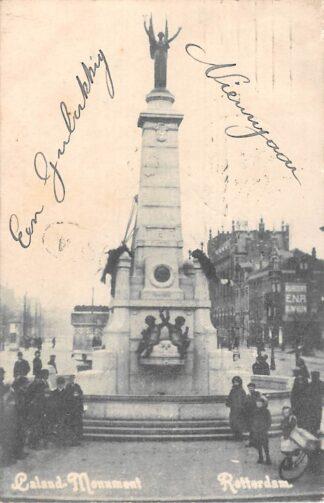 Ansichtkaart Rotterdam Caland Monument 1908 HC7084