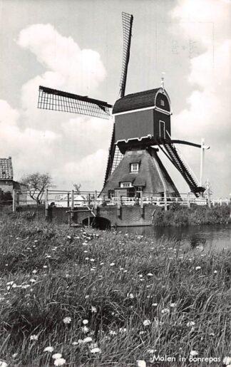 Ansichtkaart Vlist Molen in Bonrepas Schoonhoven HC7108