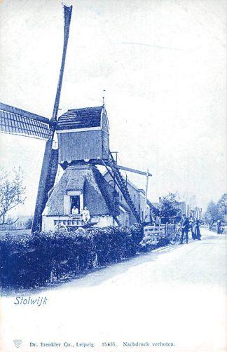 Ansichtkaart Stolwijk Molen Prachtige kaart! HC7118