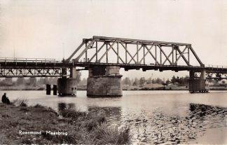 Ansichtkaart Roermond Maas Maasbrug 1959 HC7143