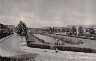 Ansichtkaart Dordrecht Jan Vethkade 1954 HC7146
