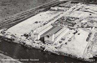 Ansichtkaart Dronten Luchtfoto Oostelijk Flevoland Graansilo's HC7157