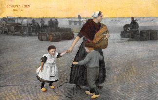 Ansichtkaart Scheveningen 1908 Naar huis Klederdracht HC7180