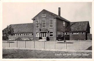 Ansichtkaart Capelle aan den IJssel Openbare School 1954 HC7188