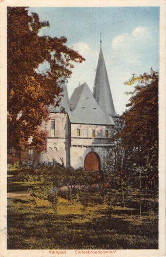 Ansichtkaart Kampen Cellebroederspoort 1926 HC7207