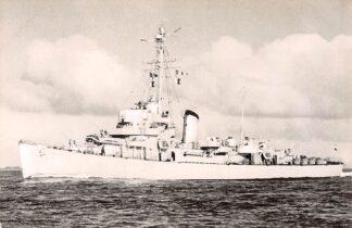 Ansichtkaart Marine Hr. Ms. Fregat De Zeeuw (F 810) 1960 Scheepvaart Schepen HC7236