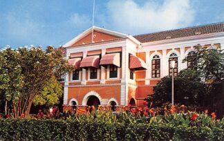 Ansichtkaart Nederlandse Antillen Curacao Governor's Palace Noord-Amerika HC7239