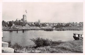 Ansichtkaart Roermond Panorama vanaf de Maas 1952 HC7255