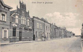 Ansichtkaart Bruinisse Oude Straat 1926 HC7272