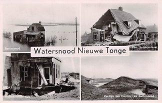 Ansichtkaart Nieuwe Tonge Watersnood 1953 HC7281