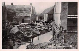 Ansichtkaart Brouwershaven Watersnood 1953 HC7291