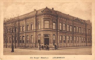 Ansichtkaart Leeuwarden Old Burger Weeshuis 1922 HC7299