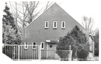 Ansichtkaart Drachten Kerk Baptisten Gemeente HC7308