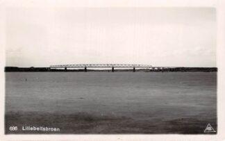 Ansichtkaart Denemarken Fotokaart Lillebaeltsbroen Middelfart Brug tussen Jutland en Funen Danemark  HC7316