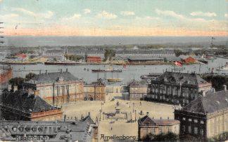 Ansichtkaart Denemarken Kobenhavn Amalienborg 1909 Danemark Denmark HC7322