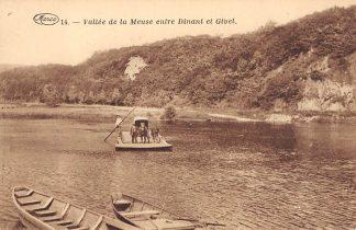 Ansichtkaart België Veer pont Vallee de la Meuse entre Dinant et Givet HC7331