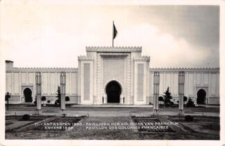 Ansichtkaart België Antwerpen Wereldtentoonstelling 1930 Pavillon des colonies Françaises HC7334