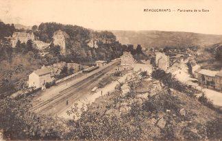 Ansichtkaart België Remouchamps Panorama de la Gare Station Spoorwegen HC7342