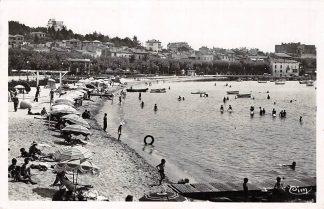Ansichtkaart Frankrijk Ste-Maxine-sur-mer La Plage Strand en zee France 1938 HC7352