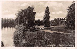 Ansichtkaart Duitsland Bad Hamm i. W. Horst Wessel Park Deutschland HC7364