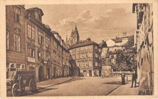 Ansichtkaart Tsjechië Praha Maltezske nam Prague Place de Malte Czech Republic Europa  HC7368