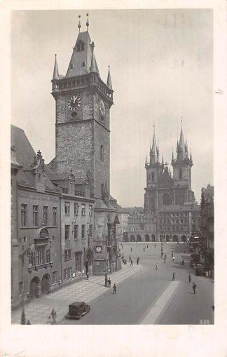 Ansichtkaart Tsjechië Praha Staromestke namesstl 1946 Prague Czech Republic Europa 1946 HC7372
