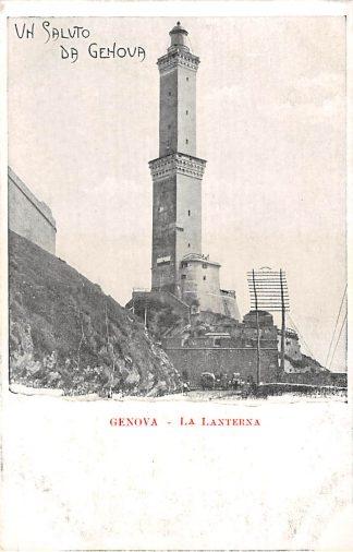 Ansichtkaart Italië Genova La Lanterna Vuurtoren Light house Italia Europa HC7378