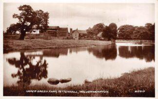 Ansichtkaart Engeland Wolverhampton Upper Green Farm Tettenhall England Great-Britain HC7389