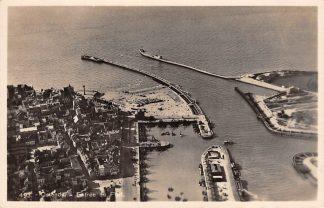 Ansichtkaart België Oostende Ingang van de haven Ostende Entree du Port 1937 HC7399