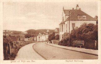 Ansichtkaart Wijk aan Zee Groet uit 1936 Reykert Aertsweg HC7439