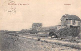Ansichtkaart Wijk aan Zee Groet uit 1906 Tramweg Tram spoor HC7440