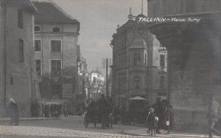 Ansichtkaart Estland Tallinn Yana turg Fotokaart Estonia Europa HC7455