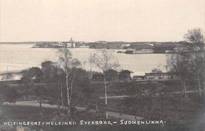 Ansichtkaart Finland Fotokaart Helsingfors Helsinki Sveaborg Suomenlinna Suomi Europa HC7456
