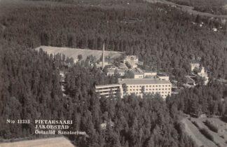 Ansichtkaart Finland Pietarsaari Jakobstad Ostanlid Sanatorium Luchtfoto Suomi HC7457