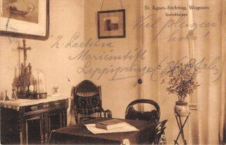 Ansichtkaart Wognum St. Agnes-Stichting Speekkamer 1918 Medemblik HC7473