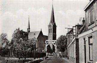 Ansichtkaart Ouderkerk aan de Amstel R.K. Kerk 1962 HC7502