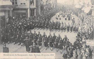 Ansichtkaart België Antwerpen Enterrement du Bourgmestre Alph. Hertogs, 22 octobre 1908 Militair Europa  HC7517