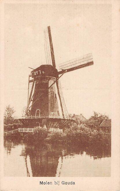 Ansichtkaart Gouda Molen Beneden Haastrecht HC7522