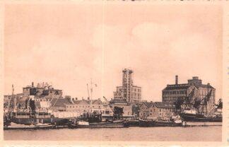 Ansichtkaart Velsen Papierfabriek Binnenvaart schepen Scheepvaart HC7530