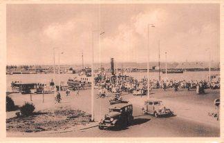 Ansichtkaart Velsen Aankomst van de Pont Veer Auto Binnenvaart schepen Scheepvaart HC7532