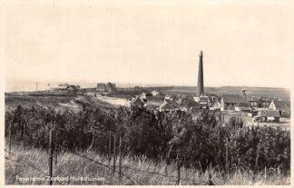 Ansichtkaart Huisduinen 1929 Panorama Zeebad met Vuurtoren Den Helder HC7553