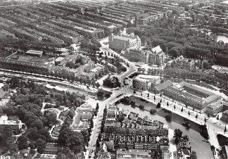 Ansichtkaart Amsterdam Muiderpoort omstreeks 1926 KLM Luchtfoto Heruitgave 1975 HC7584