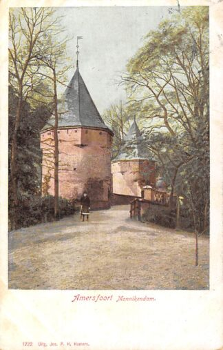 Ansichtkaart Amersfoort Monnikendam 1905 HC7593