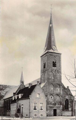 Ansichtkaart Utrecht Geerte Kerk HC7602
